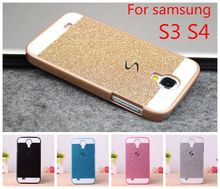 Luxury S Line Sparkling Glitter Bling Hard Plastic PC Cell Phone Case Cover For Samsung Galaxy S3 I9300 Neo Duos S4 i9500 (China (Mainland))