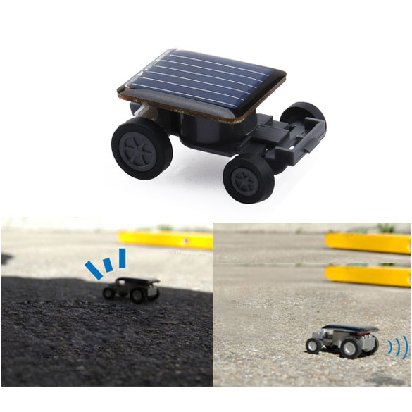 Solar Power Mini Toy Car Racer Educational Gadget W hv3n(China (Mainland))