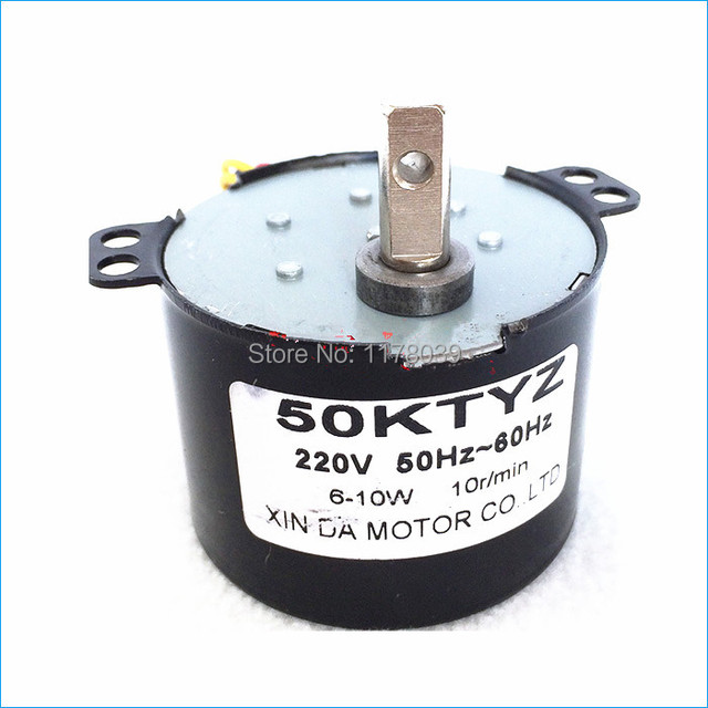 50ktyz 220v Ac Permanent Magnet Synchronous Electric Motor