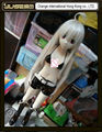 2015 new top quality 130cm japanese fabric sex doll anime full body sex toys life size
