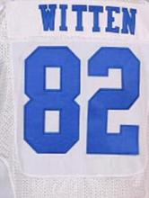 SexeMara 2016 New Roster Mens High Quality 100% Stitched 82 witten Color lee Blue Thanksgiving White Elite Throwback Jerseys(China (Mainland))