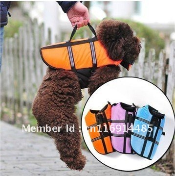 Dog clothes Small Dog Saver Life Jacket Dog Life Vest Pet clothing Wholesale
