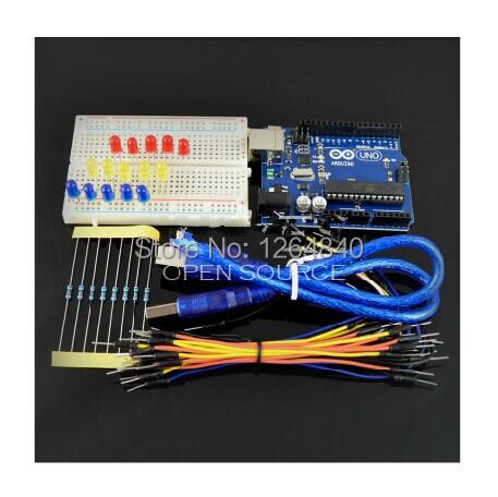 ООН R3 Базы DIY Стартера Для Набора Arduino Развития Коллегии Микроконтроллера Кроссовый Провод Макет