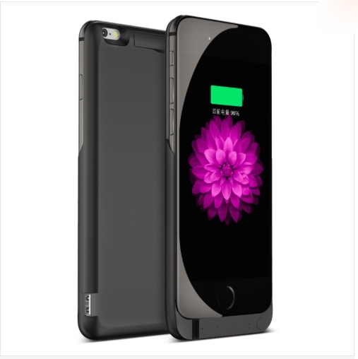 7000mAh Rechargeable Backup Power Case Cover for i Phone6 External Battery Charger Case for i Phone6Plus Power Bank Case 8000mAh(China (Mainland))