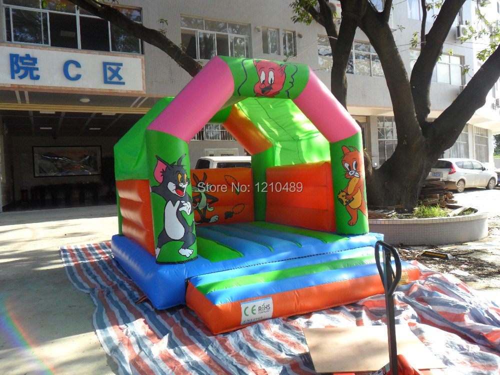 Dual slides, Inflatable bouncer, Jumping house for sale(China (Mainland))