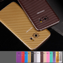 360 Degree Full Body Carbon Fiber Style sticker For samsung S7 S6 edge or Plus S5 Note 5/4/3/2 A710 A510 Case Skin(China (Mainland))