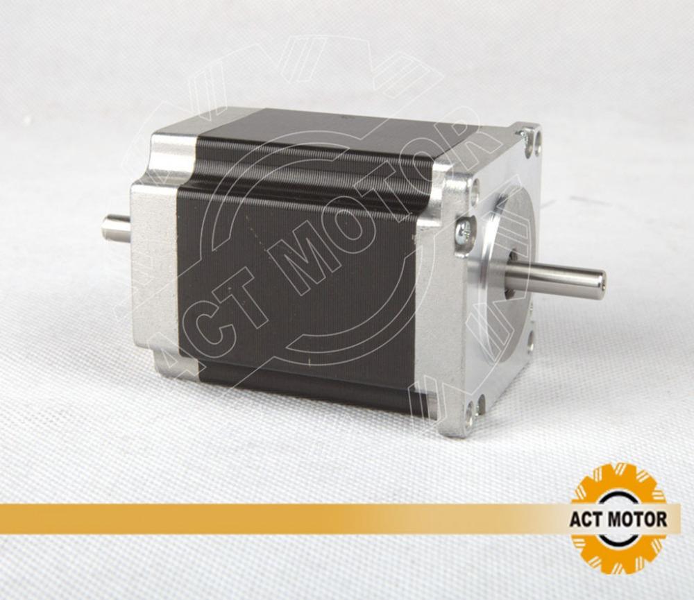Buy Dual Shaft Nema 23 Stepper Motor 1