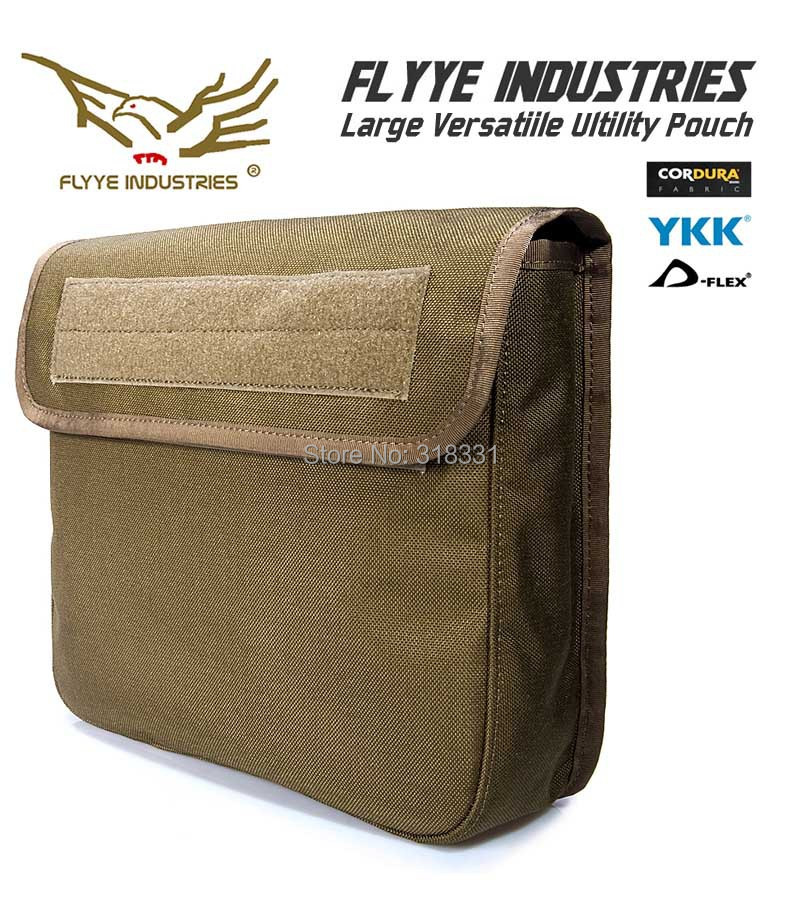 (Super Big) Genuine FLYYE PH-C037 1000D CORDURA Waterproof Nylon Tactical Molle Pouch Gear Bag Tools Accessories Utility Pouchs - Betterman Hardcore Equipment -- Betterman007 / Simon Chen store