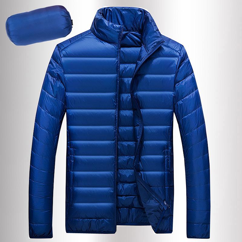 New 2016 Design Winter warm Men Down Jacket Ultra-light Casual Coat Fashion Jacket Men 90% White duck down 3XL brand clothing(China (Mainland))