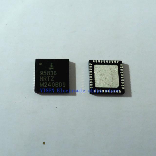 10pcs ISL95836HRTZ  ISL95836  95836HRTZ 95836 QFN  Dual 3+2 PWM Controller for IMVP-7/VR1 CP