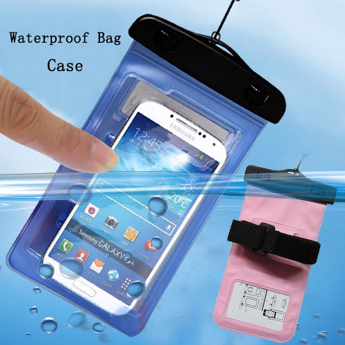 New PVC Sport Swimming drifting Underwater Phone Cover Waterproof Bag Case For Coolpad 7296 7296S(China (Mainland))