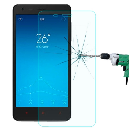 Mobile Phone Screen Protector Xiaomi Redmi 2 0.3mm 9H+ Surface Hardness 2.5D Explosion-proof Tempered Glass Film - LGYD Home store