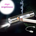 Multifunction USB Charging 320 mA aluminum flashlight lighter outdoor camping supplies 85 18 18 mm