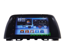 9'' Big Screen No disk Android 4.2.2 Car GPS for Mazda 6 / Atenza 2013 Dual Core Capacitve screen with Wifi 3G Free 8GB map card(China (Mainland))