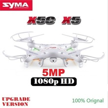 SYMA X5C X5 RC Drone With 5MP HD Camera 4CH 6-Axis Remote Control Helicopter Quadcopter Dron(China (Mainland))