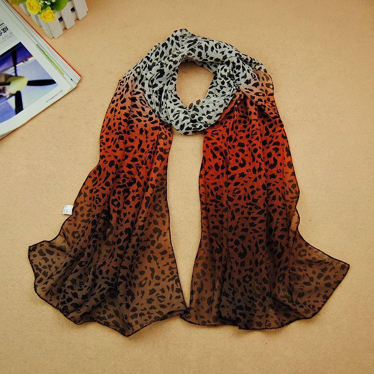 HOT! 2014 New Leopard grain color Print Scarf hijab/muslim fashion scarf/scarves 160*50cm . - Sunshine's store