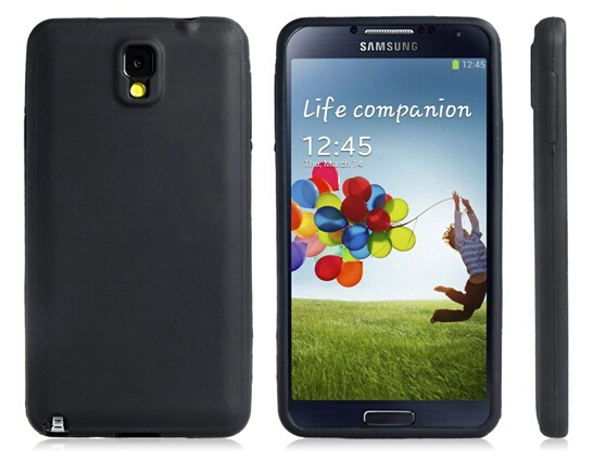 Protective Silicone Case Samsung Galaxy Note 3 (Black) New - Shop1249153 Store store