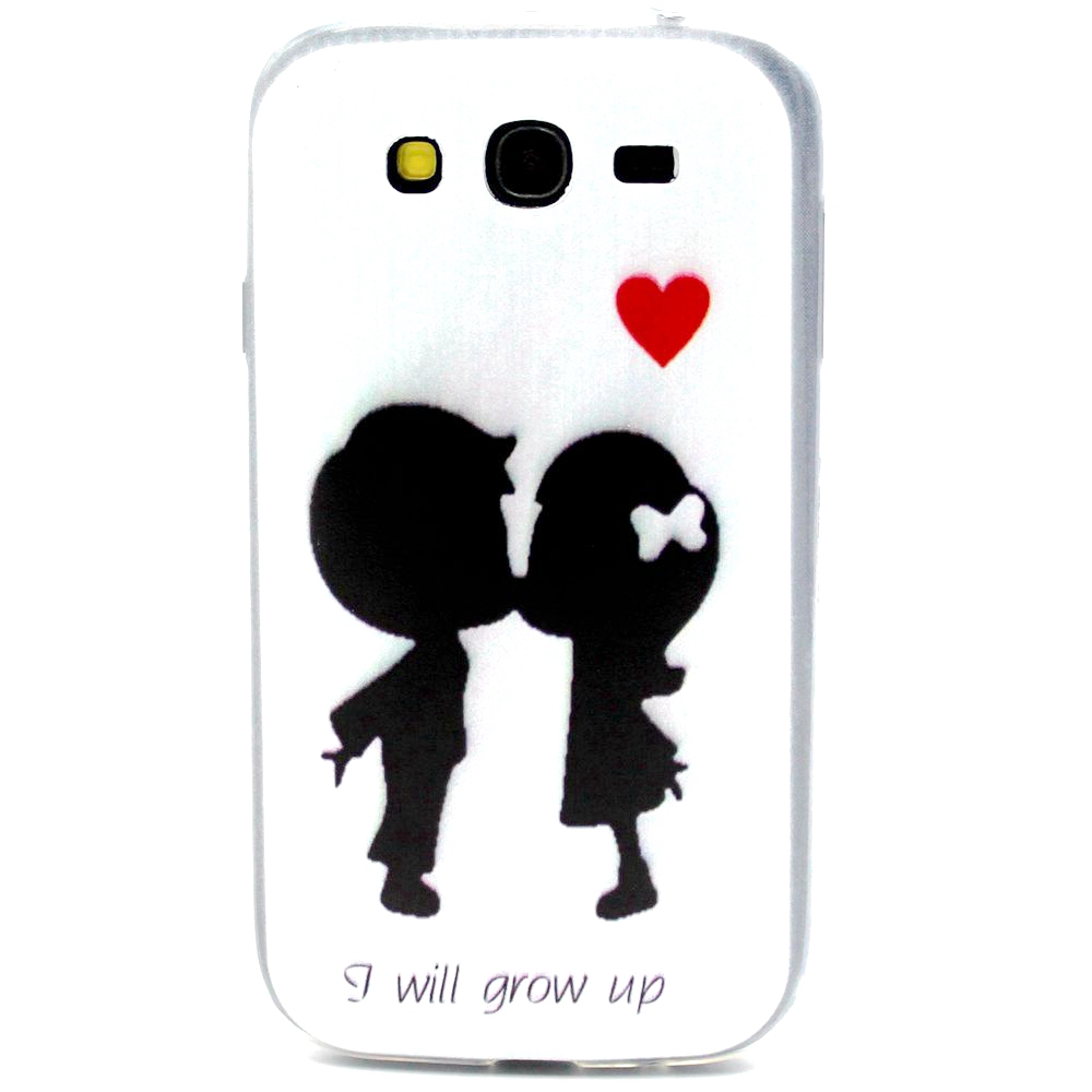 Slim Case For Samsung Galaxy Grand Duos i9080 i9082 Grand Neo Plus i9060 i9062 Painting Soft Cover Clear Ultra Thin TPU Coque