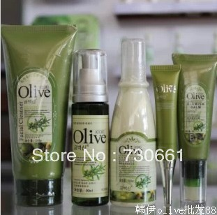 Olive series whitening hydrating cosmetics counters quality goods bag mail packages - 100% store