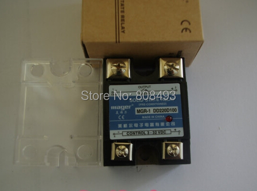 100A DC-DC Solid state relay Quality Goods MGR-1 DD220D100 Mager Brand ! China's Toppest - Shanhe Electric Co Ltd store