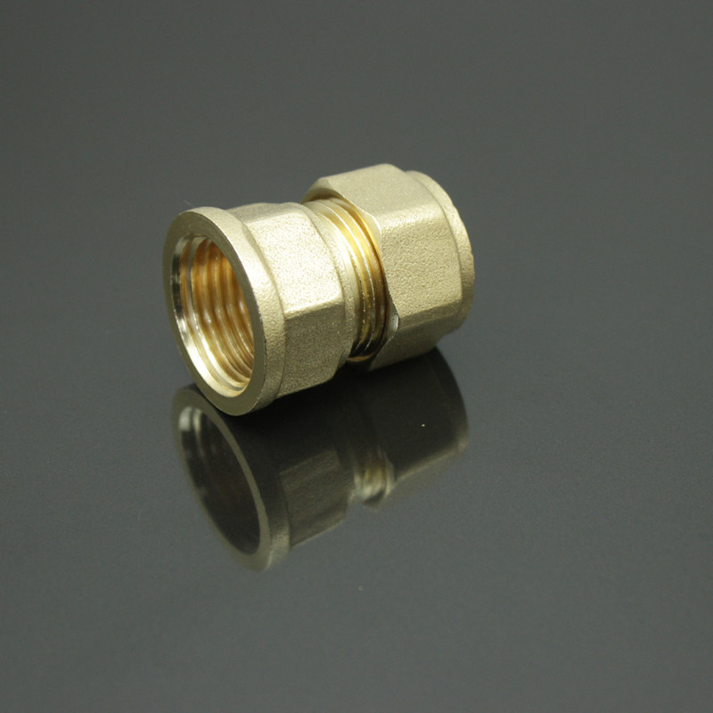 Hydraulic quick coupler s f pipe brass female thread
