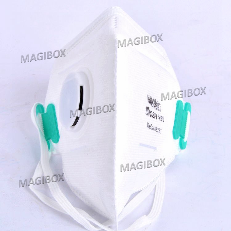 N95 Portable Noish dustproof and anti haze masks breathing valve mounted PM2.5 Valved Particulate Respirator