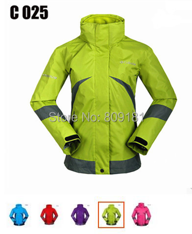 Outdoor Jackets woman thick climbing jacket waterproof windproof lining fleece winter tourismTops women's ski coat - store