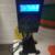 Горячий Продавать Черный Ураган Татуировки Питания HP-2 Цифровой Двойной ЖК-Дисплей Татуировки Питания Машины Бесплатная Доставка