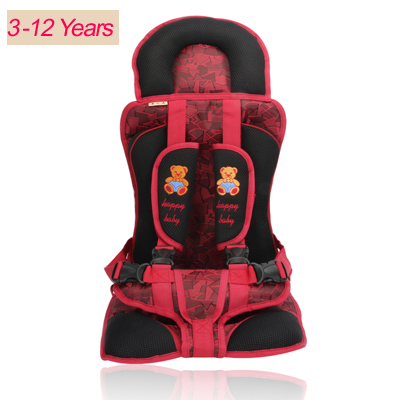 Good quality portable Baby Car Seats Child Car Safety for Baby of 10-40KG Children's car seat cushion 2 colors chlid car seat(China (Mainland))