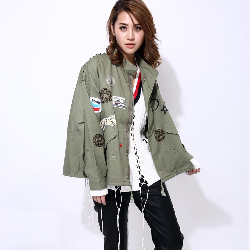 Aliexpress.com  Buy [TWOTWINSTYLE] streetwear bomber jacket women basic coat 2016 korean ...