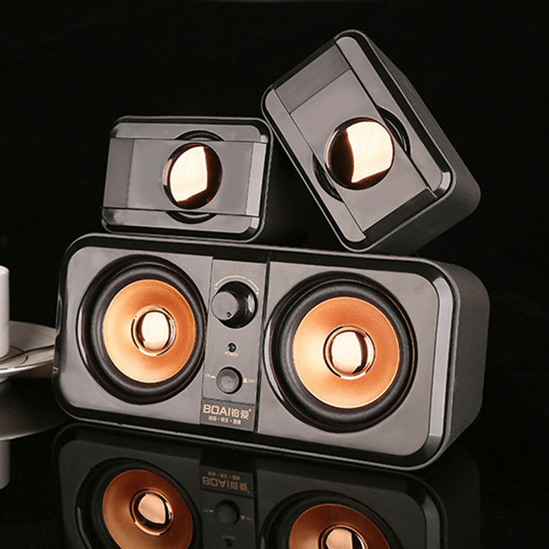 Hot 2016 High quality Computer audio Notebook speaker Multimedia 2.2 mini subwoofer speakers Apply to PSP MP3/MP4 TV Mobilephone(China (Mainland))