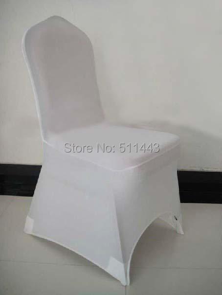 discount white stretch spandex lycra banquet chair cover wedding chair