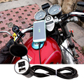 Motorcycle Accessory 12V 24V Waterproof Motorcycle USB Power Charger Socket with Safety Switch for Mobile Phone