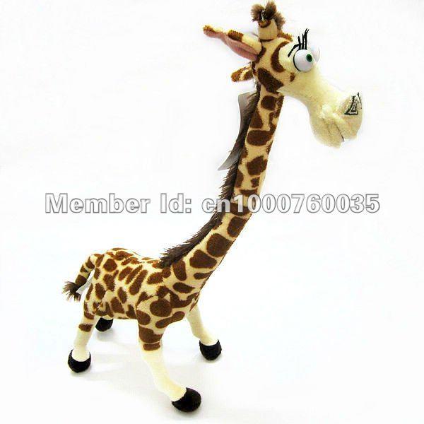 15 inch Cute Lovely Long Neck Giraffe Stuffed Plush Toy Doll Madagascar 3 Kids - LazyCorner Intl. Group Co.,Ltd. store