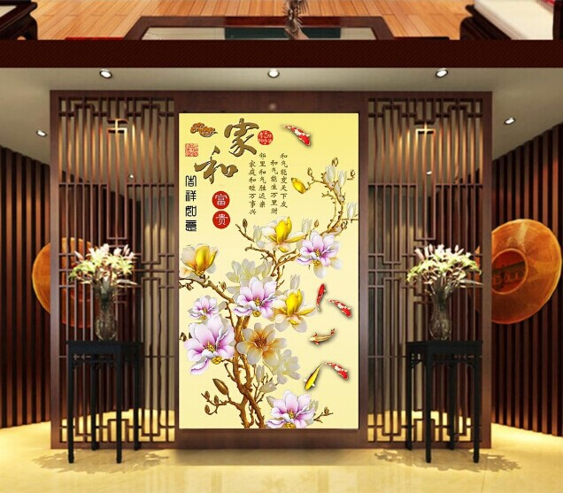 Aliexpress popular korea television in home garden for Big wallpaper for wall