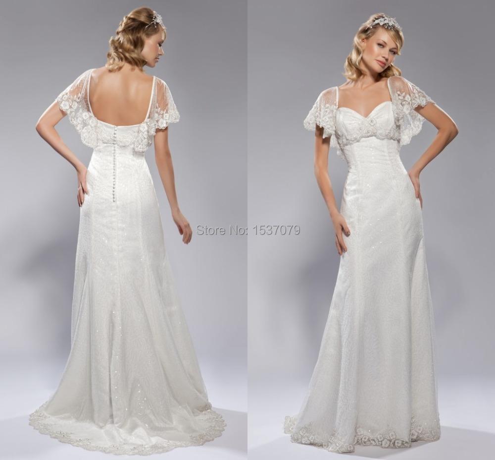 Vestido de novia fina La