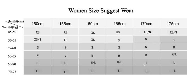 Gsou snow women suggest size-1