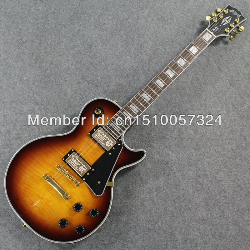 NEW G CUS ELECTRIC GUITAR OF VINTAGE SUNBURST IN STOCK - J Hardon Store store