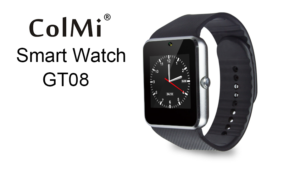 image for GT08 Smart Watch Sync Notifier Support Sim Card Bluetooth Connectivity