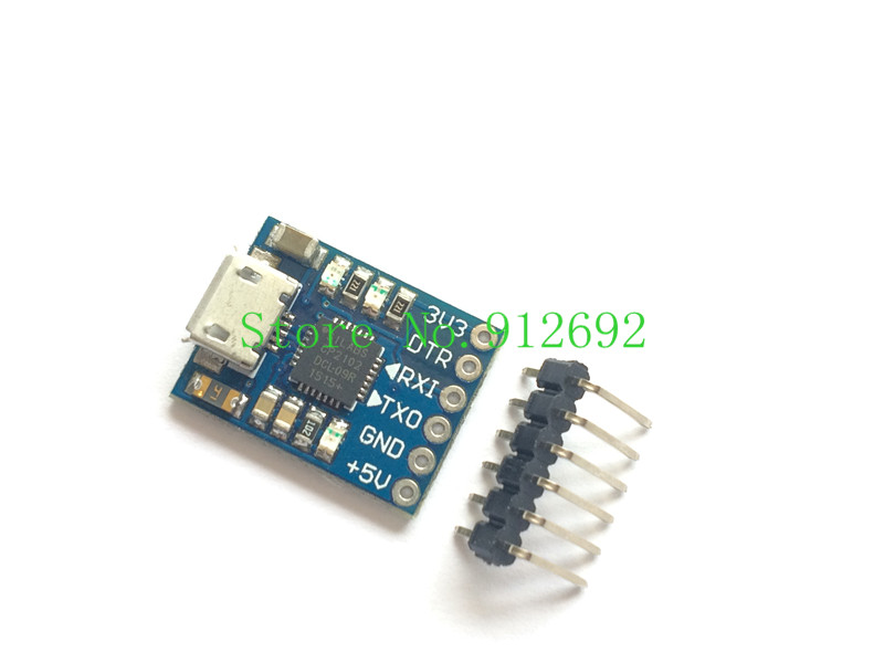 CJMCU CP2102 MICRO USB to UART TTL Module 6Pin Serial Converter UART STC Replace FT232 NEW for arduino(China (Mainland))