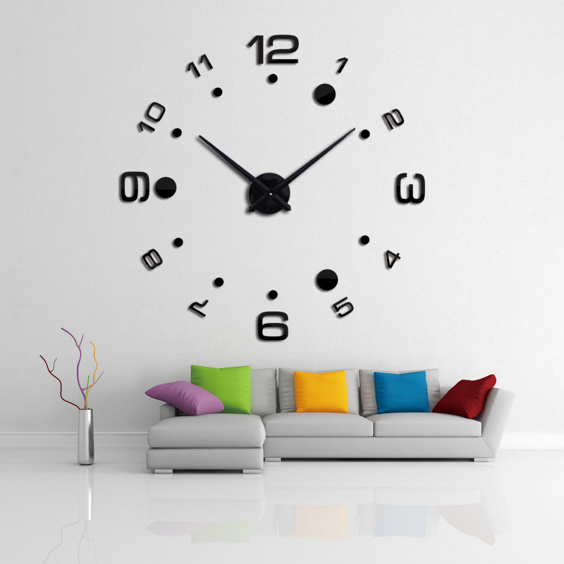 Buy 2016 new wall clock diy clocks reloj de pared quartz wat - Horloge murale decorative ...