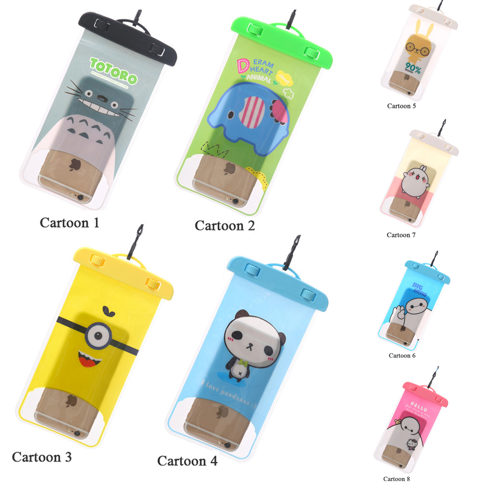 PVC Waterproof Bag For Samsung Galaxy S5 i9600 SV Underwater Pouch Case For Elephone G4 For HTC Desire 620 620G Desire 820 Mini(China (Mainland))