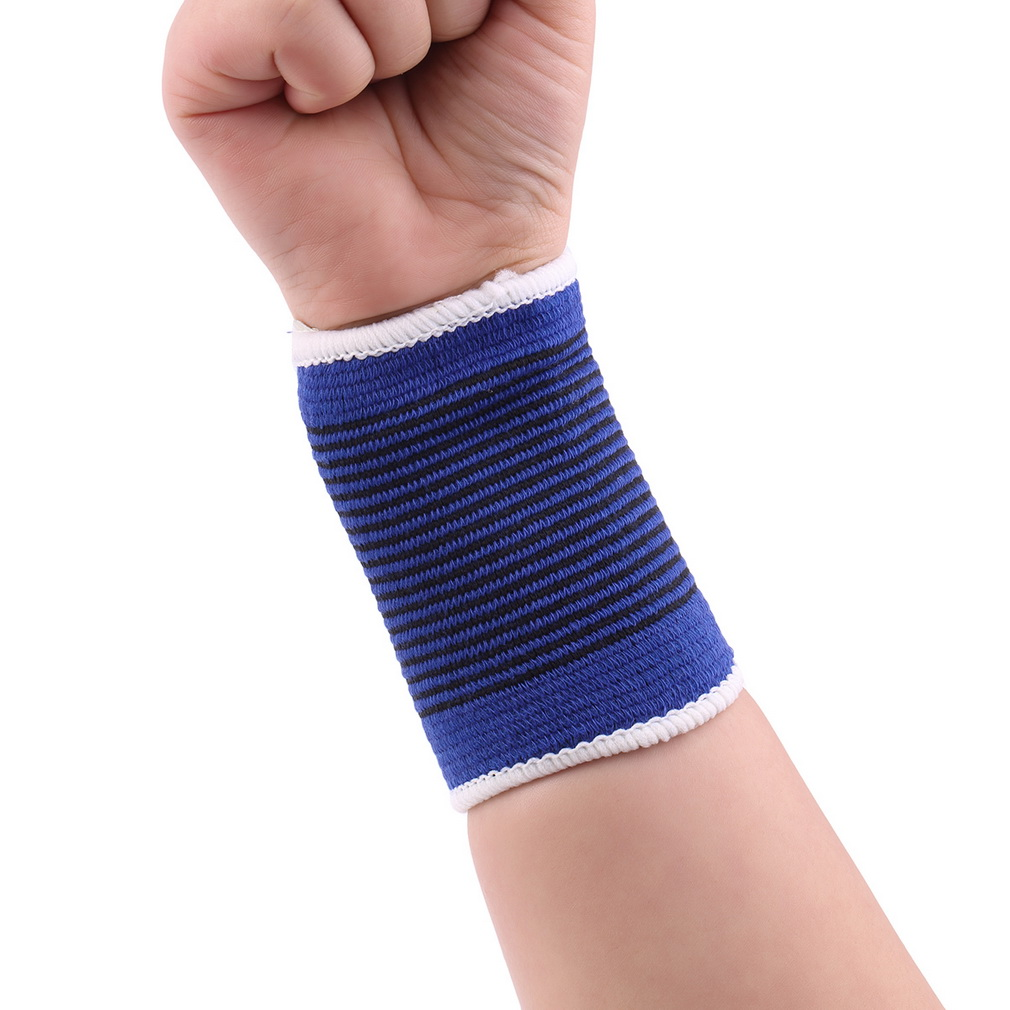 1 Pair Soft Elastic Breathable Wrist Support Brace Band Sleeve Sports Bandage High Quality