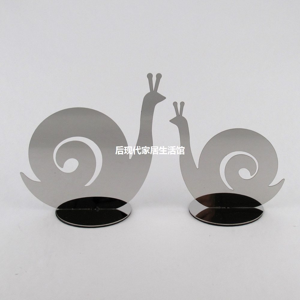 Home decoration stainless steel snail crafts decoration furnishings fashion decoration frame(China (Mainland))