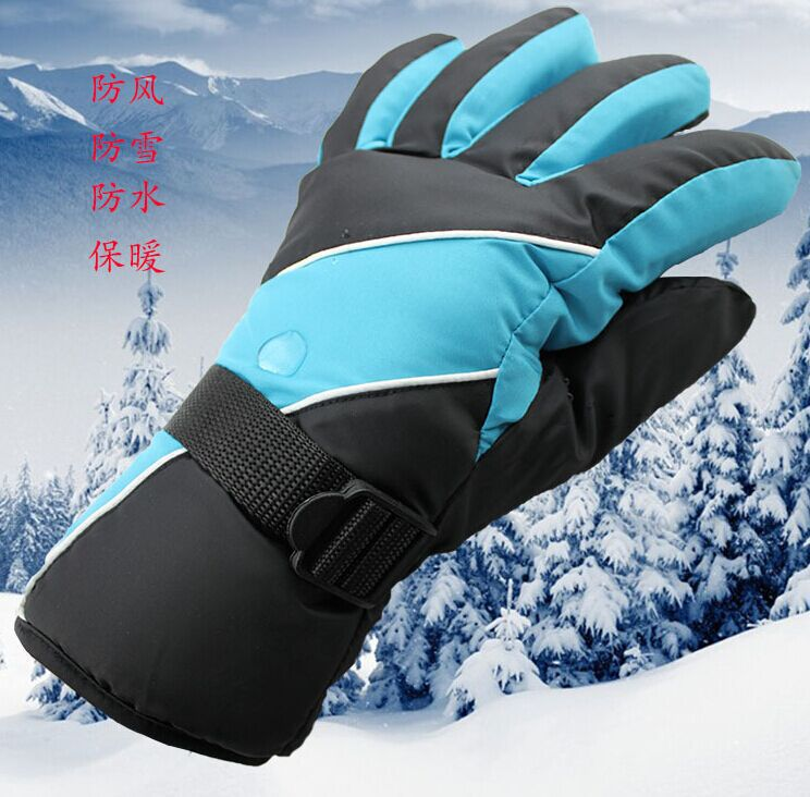 hot sale Autumn and winter warm gloves, men and women ski riding gloves, wind and cold waterproof motorcycle thickened gloves(China (Mainland))