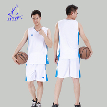 5XL Tops+Shorts Mens Sleeveless Basketball Set 2016 Breathable Quick Drying Jerseys Tracksuit Kits Team Sports Training Shirt