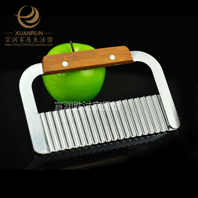 Stainless steel multifunctional slice wire kfc fries corrugated cooking machine