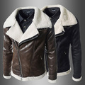 Boutique lambs wool han edition cultivate one s morality men big leather coat
