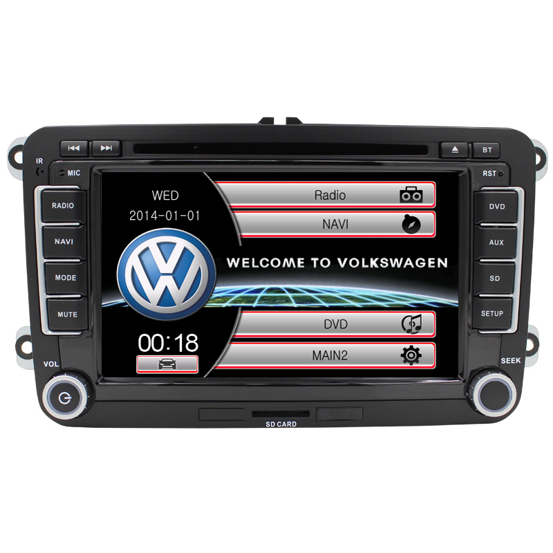 for vw passat b6 double din car dvd(China (Mainland))