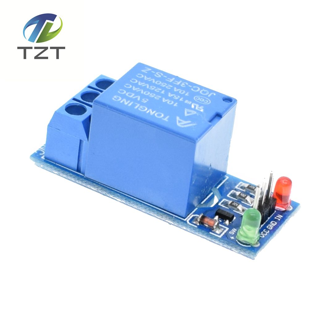 1pcs New 5V low level trigger One 1 Channel Relay Module interface Board Shield PIC AVR DSP ARM MCU Arduino 1PCS